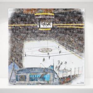 Hockey Arena Prints Hockey Arena Wall Art Hockey Arena Art
